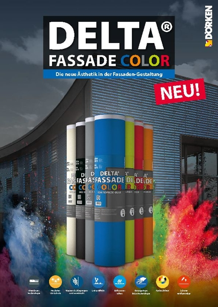 DELTA®-FASSADE COLOR Flyer